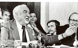 Sam Ervin Makes A Joke During The Watergate Hearings