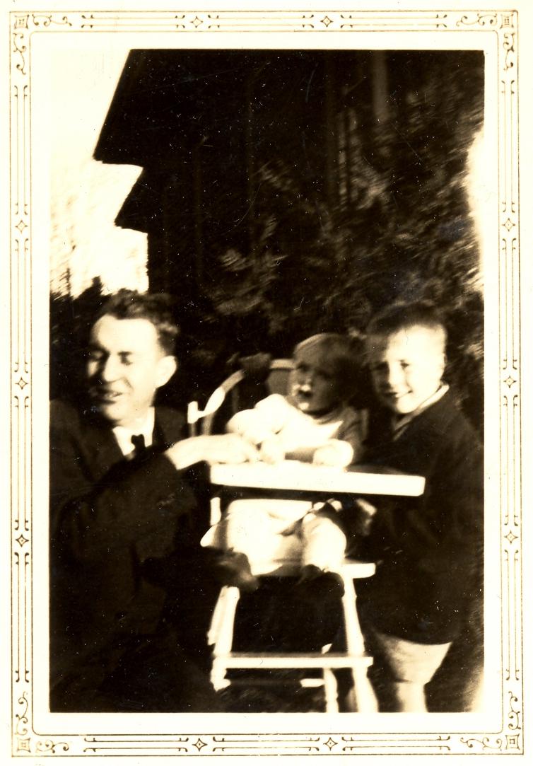 Sam Ervin with Children
